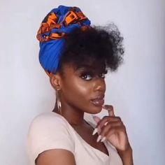 Add Some Sass to Your Style with a Gorgeous HeadwrapWe're taking protective styling to the next level with our gorgeous headwraps. Have you ever wanted to give your curls a break or switch up your everyday style and didn't know how? A stunning Cee Ce Hair Wrap Scarf, Hair Scarf Styles, Curly Hair Styles, Natural Hair Styles, Natural Protective Styles, Protective Hairstyles For Natural Hair, Natural Hair Accessories, 4c Natural Hair, Scarf Hairstyles
