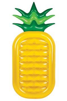 Tendance bord de piscine Matelas gonflable Ananas (Sunnylife)
