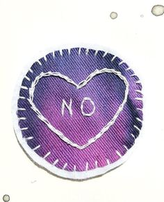 NO - Feminist Patch, Embroidery patch, Tumblr patches, Feminism Patch, Sew on patch, Embroidered patch, Patches for jackets, Cute patch, Pin