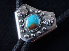 Bolo - Native american mexican jewellery - Made it from Kokopelli Guadarrama :-) Mexican Jewelry, Little Things, Pretty Little, Turquoise Bracelet, Native American, Jewelry Making, Jewellery, Bracelets, How To Make