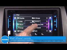 ▶ JVC KW-V21BT Display and Controls Demo | Crutchfield Video - YouTube