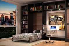 A wall bed is the perfect solution for you if you need more space but still value sleep. Meet with our designers to customize your own classy Murphy Bed. Bed Frame Hardware, Bunk Bed Designs, Wooden Bed Frames, Flex Room, Built In Cabinets, Bed Wall, Metal Beds, Closet Designs, Cabinet Design