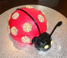 LADYBUG CAKE! How Cute!