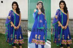 Shravya Blue Salwar Kameez
