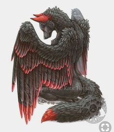anime wolf with wings Wolf Photos, Wolf Pictures, Fantasy Wolf, Fantasy Art, Magical Creatures, Fantasy Creatures, Animal Drawings, Cool Drawings, Shadow Wolf