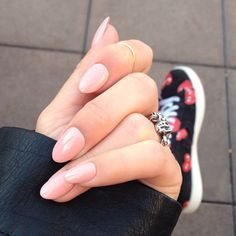 stephstonenails Instagram photo ~ Nude nails 4ever!