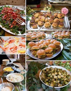 Southern spread at wedding or any occasion