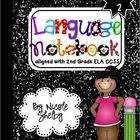 From Nicole Shelby: Language Interactive Notebook. This notebook covers ALL of the 2nd grade Language Standards. Included: A cover for the notebook, Printables to create each page, Dividers for each Language strand, Photos of each page of the notebook put together so you have an idea of how the materials can be used.