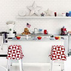 American-style kitchen