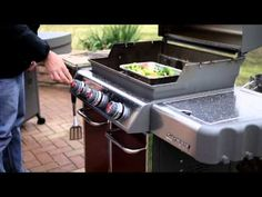 Weber Grills -Rotisserie Grilling on Gas - YouTube