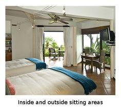 Deluxe Rooms   Manuel Antonio, Costa Rica   Tulemar Vacation Home Rentals and Sales