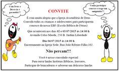 Convite EBF- Modelo