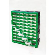 Steel Vision Tools are designed and manufactured to the highest quality to meet the needs of industry professionals at an affordable price. The Steel Vision 60 Drawer Storage Container is a multi-functional Plastic Storage Cabinets, Lego Storage, Tool Storage, Storage Drawers, Storage Containers, Craft Storage, Garage Storage, Storage Ideas, Small Parts Storage