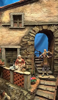 1 million+ Stunning Free Images to Use Anywhere Christmas In Italy, Christmas Home, Xmas, Yule, Christmas Nativity Scene, Free To Use Images, Nativity Crafts, The Shepherd, Miniature Houses