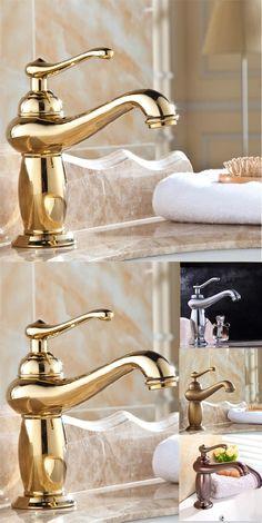 Free shipping lamp design modern bathroom faucet brass chrome faucets gold faucet bathroom antique faucets,torneira banheiro