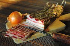 Nasušte si klobásky a salámy bez údenia (chorizo) Food 52, Chorizo, Sausage, Bacon, Good Food, Food And Drink, Pork, Cooking Recipes, Beef