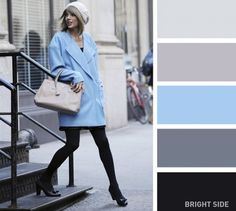 Soothing cold colors-20 brilliant color combos for your wardrobe