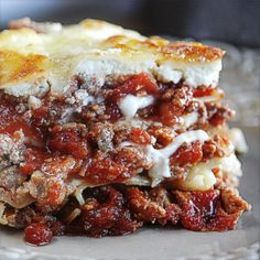 North End Lasagna