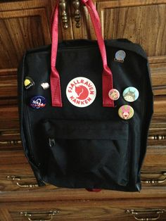 Black and ox red Kanken