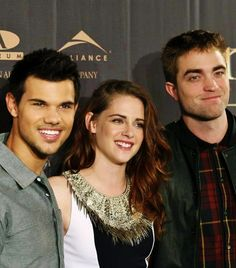 Taylor, Kristen and Rob at Breaking Dawn 2 photocall in Berlin
