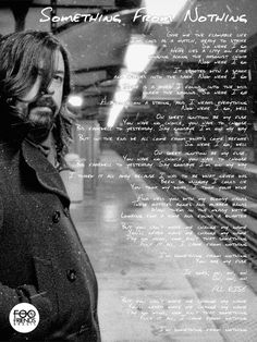 Dave Grohl Foo Fighters Something from Nothing