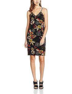 Womens Onlflour Zipper L/S WVN Dress Only I5VFYiCD1t