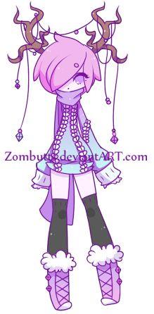 Custom: Kuroibarrahime by Zombutts on DeviantArt