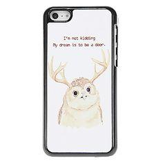Uil met hertenkop Patroon Aluminous Hard Case voor iPhone 5C – EUR € 5.75 Cheap Iphones, Iphone 5c Cases, Cover, Kids, Stuff To Buy, Children, Slipcovers, Baby Boys, Child
