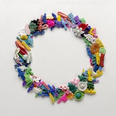 Barrettes Wreath. Cavallo Point Prints - One Beach Plastic