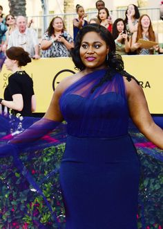 curvynation: Danielle Brooks arrives for the 21st Annual Screen Actors Guild Awards, January 25, 2015 at the Shrine Auditorium in Los Angeles, California. And that's how you do it….