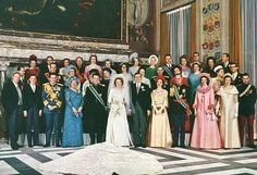 Wedding of Crown Princess Beatrix the the Netherlands with Klaus von Amsberg