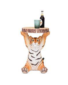 Mesa Tigre realizada en poliresina. Medida: 37x35x53 cm.   LA OCA La tienda de decoracion donde comprar los mejores muebles de diseño y articulos para el hogar
