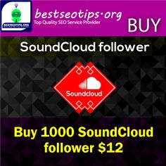 Buy Soundcloud Followers | Soundcloud Followers | Real SoundCloud followers