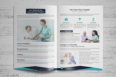 Health Brochure  Brochure Layout