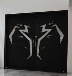 #om #abstract #contemporary door