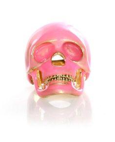 Rad Skull Ring - Pink Skull Ring - $12.00