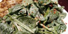 Red Pepper Spinach Salad