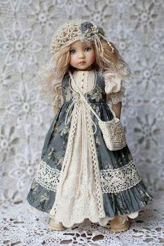 Girl Doll Clothes, Doll Clothes Patterns, Doll Patterns, Clothing Patterns, Girl Dolls, Dress Patterns, Baby Dolls, Mori Mode, Mori Fashion