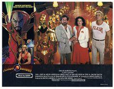 Flash Gordon (not starring Sam Worthington), Queen score. Flash Gordon, Sam J Jones, Brian Blessed, Sam Worthington, Max Von Sydow, Timothy Dalton, Still Frame, Yesterday And Today, Sci Fi Movies