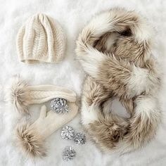 Cashmere and Faux Fur Collection, Ivory #makeyourmark