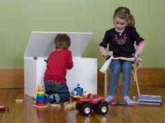 Mocka Wooden Toy Box