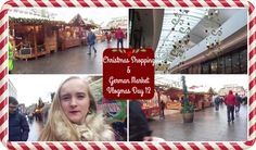 CHRISTMAS SHOPPING & GERMAN MARKET | VLOGMAS DAY 12 | MoreRetroBombshell
