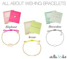 All About Wishing Bracelets! Make your own luck with Stella & Dot