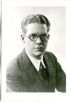 Nelson Eddy - Wearing Round Glasses 1920's