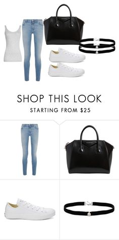 """Untitled #2"" by esmalapandic ❤ liked on Polyvore featuring Givenchy, Converse, Amanda Rose Collection and Vince"