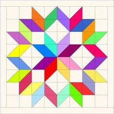 Red Letter Quilts: Scrappy Carpenter's Wheel Quilt Block Tutorial
