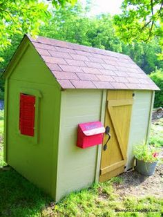 Inspiring Playhouses, Playhouse Ideas For Inside And Outside | Kids Play  Outdoor Equipment , Playground , Playhouse | Pinterest | Playhouse Kits, ...