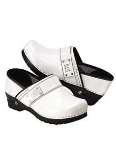 b632a22602e2 Koi by Sanita Lindsey nursing clogs. White Nursing Shoes