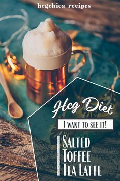 Phase 2 hCG Protocol Hot Drink Recipe: Salted Toffee Tea Latte - 14 calories - hcgchicarecipes.com - drink - hcg diet phase 2 recipe hcg diet p2 recipe hcg protocol hot drink idea hcg diet hot beverage recipe hcg diet tea recipe hcg diet almond milk recipe
