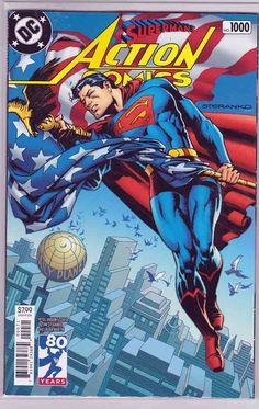 Action Comics #1000 Blank Sketch Variant Cover DC Comics 2018